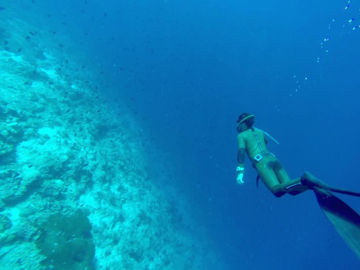 Freediving in Bir