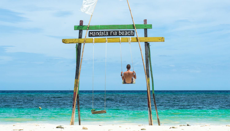 Beach Swing at Mandala Ria beach