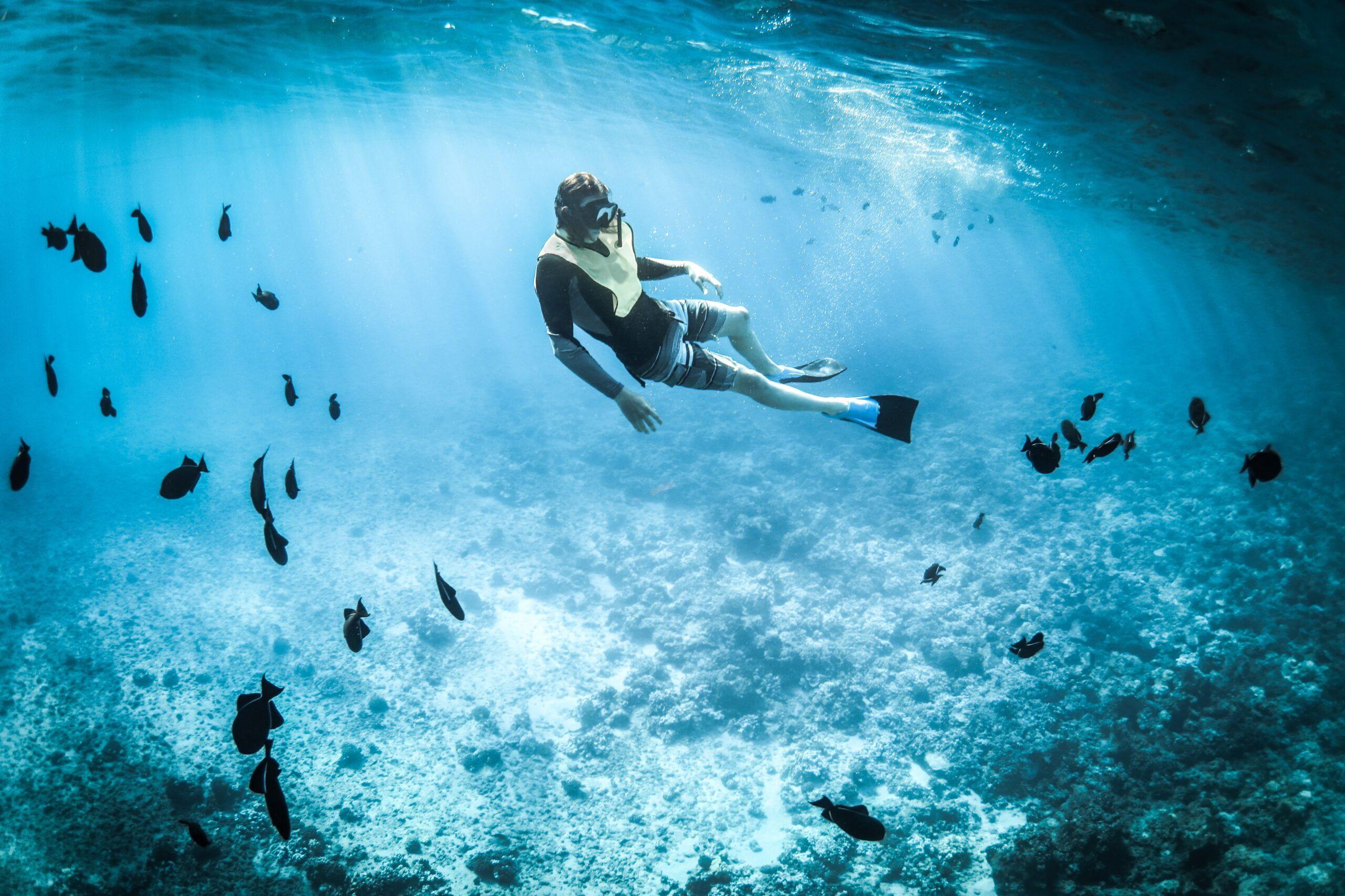 Snorkeling at Bara Beach